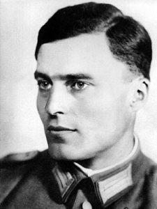 Lieutenent Colonel Claus Schenk Graf von Stauffenberg
